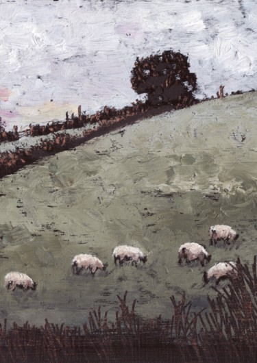 The Sheep in Connie's Field