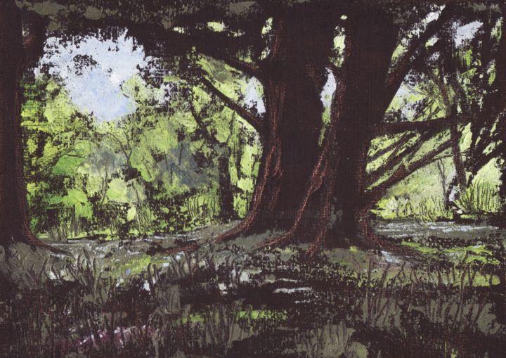Micheal O Muirthile - Forest Glade, Killarney